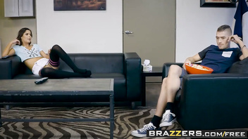 Brazzers - Teens Like It Big - Stepbrotherly Love scene starring Katya Rodriguez and Xander Corvus
