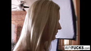 Gia Paloma and James Deen stop by Avy Scotts house