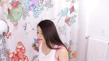 Step Sister Bathroom Creampie - Meana Wolf