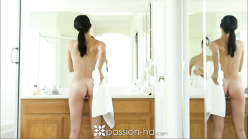 HD - Passion-HD Sexy Alaina Kristar gets all clean for a massage